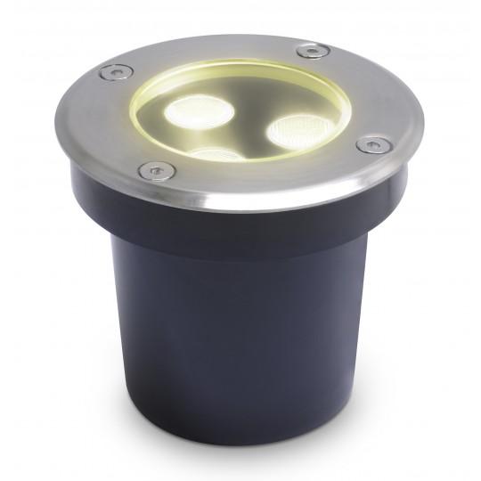 Hochwertiger LED Bodeneinbaustrahler Brandis warmweiß