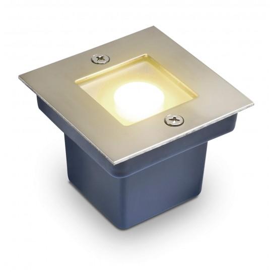 Dezenter LED Bodeneinbaustrahler Horka warmweiß