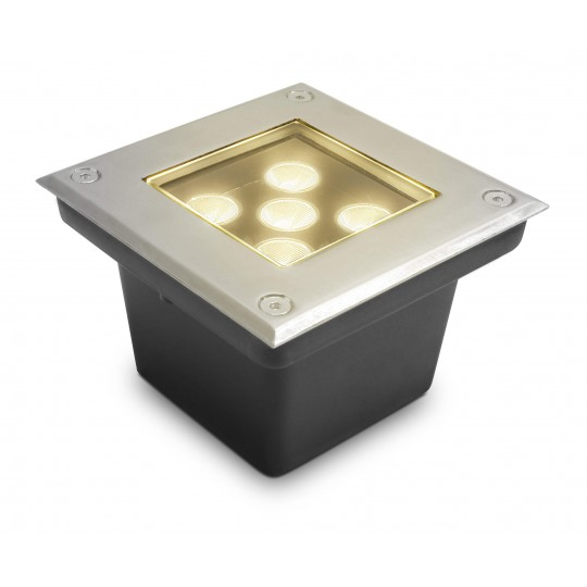 Funktionaler LED Bodeneinbaustrahler Taura warmweiß