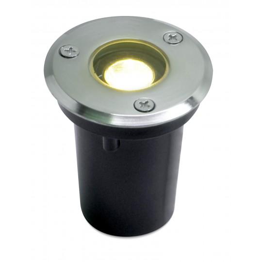 Moderner LED Bodeneinbaustrahler Sohra warmweiß