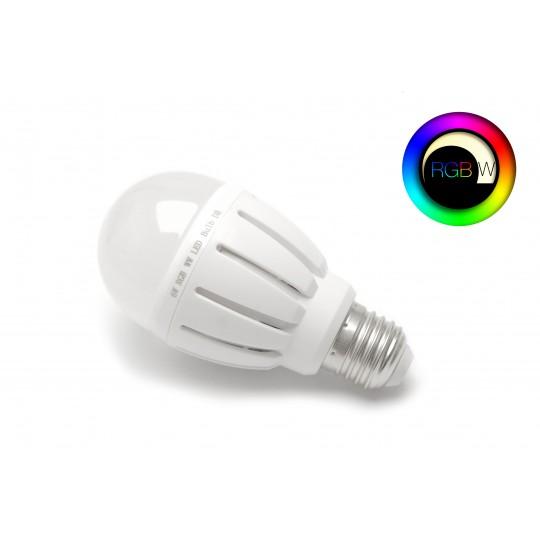 RGBW LED Birne 6 Watt E27