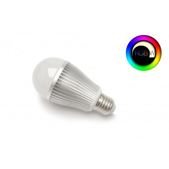 RGBW LED Birne 9 Watt E27