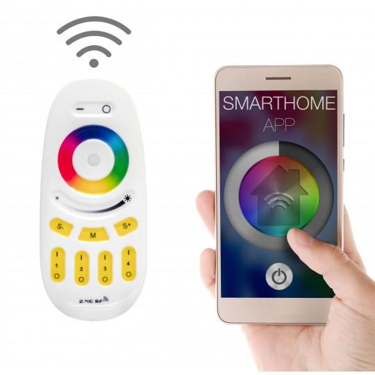 4 Zonen Funksteuerung für RGBW LED Streifen