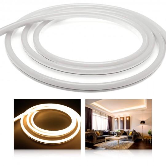 Premium 24V NeonFlex warmweiß LED Streifen 120 LED/m