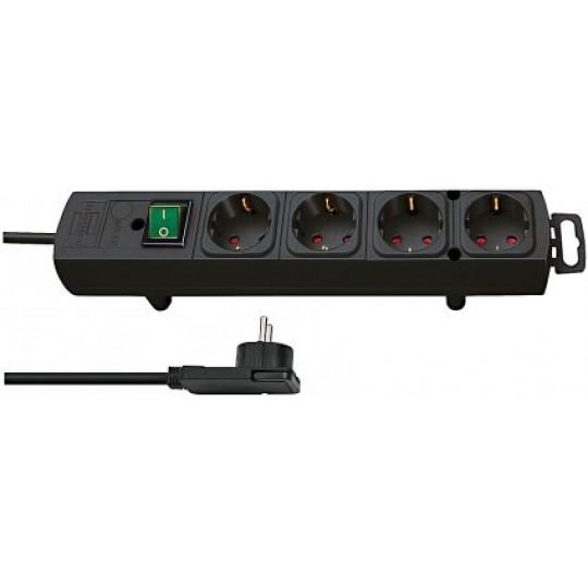 Comfort-Line Plus Steckdosenleiste 4-fach schwarz