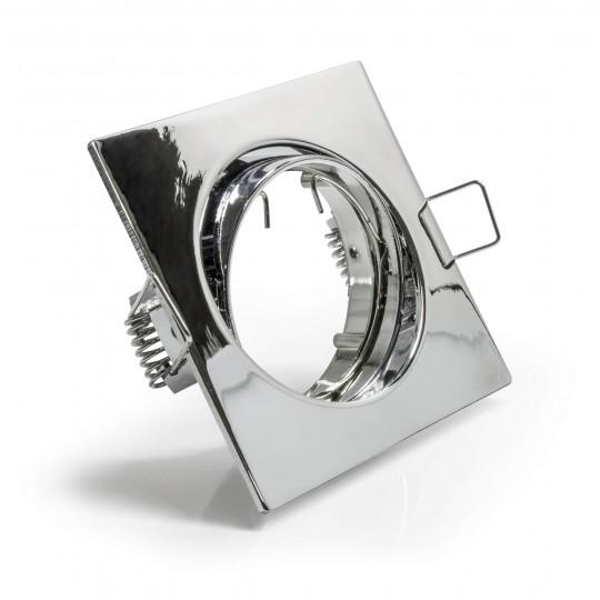 Schwenkbarer Einbauring für LED Spots,quadratisch