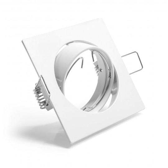 Schwenkbarer Einbauring für LED Spots–quadratisch