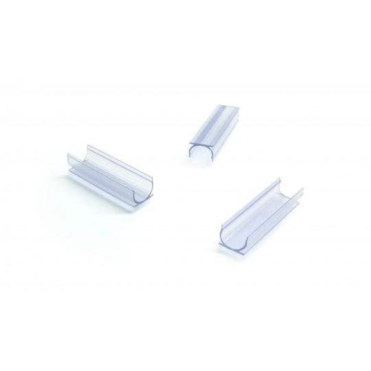 3er Set Kunststoff U Schellen  für Lichtwellenleiter