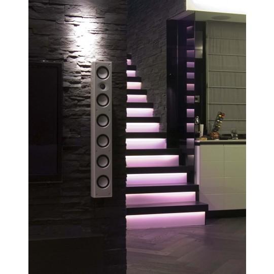 Komplettset LED-Treppenbeleuchtung mit RGB LED Streifen