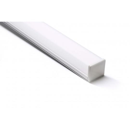 Aluminium U Profil 1m Länge 26 x 10mm