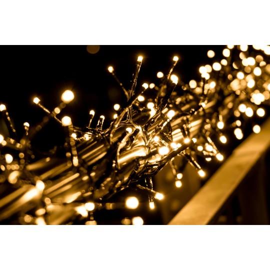 LED Büschellichterkette warmweiß mit 480 LEDs