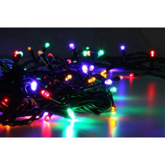 LED Lichterkette mehrfarbig RGBY mit 100 LEDs