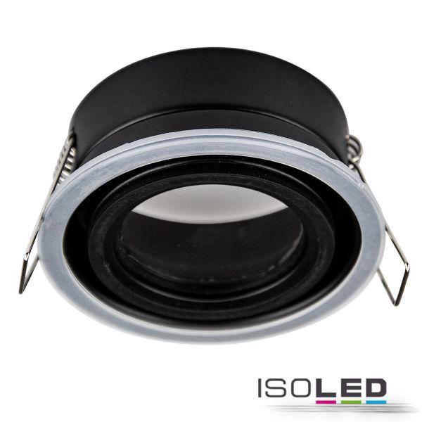 113055 Einbaurahmen Sys-68 für GU10/MR16 Spots, IP65, inkl. GU10 Sockel u. Glaslinse (exkl. Cover)