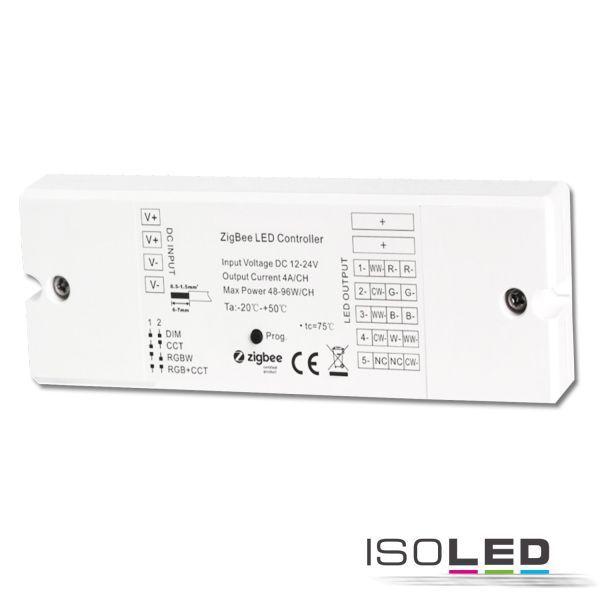 114729 ZigBee 3.0 PWM-Dimmer für LED Flexbänder/Spots, 5 Kanal, 12-24V DC 5x4A