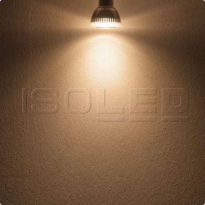 112035 GU10 LED Strahler 6W GLAS-COB, 70°, warmweiß, dimmbar