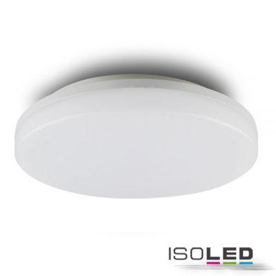 113707 LED Decken/Wandleuchte mit HF-Bewegungssensor 24W, IP54, ColorSwitch 3000K 4000K, weiß