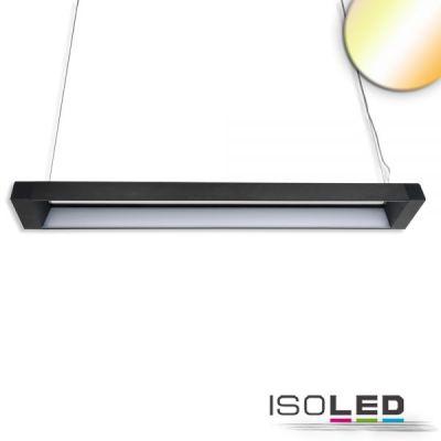 113777 LED Hängeleuchte Frame 40W, schwarz, ColorSwitch 3000 4000 5700K