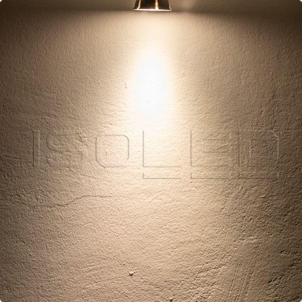 113681 GU10 Vollspektrum LED Strahler 7W COB, 60°, 2700K, dimmbar