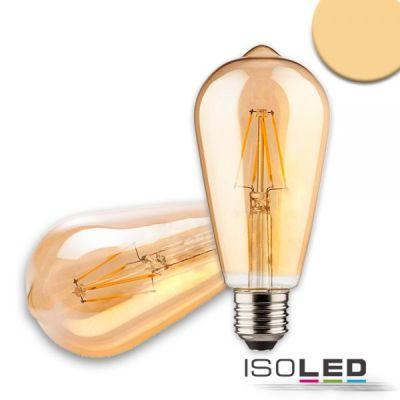 113325 E27 Vintage Line LED ST64 Birne 8W ultrawarmweiß, dimmbar
