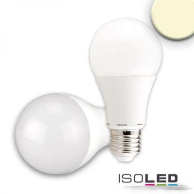 113036 E27 LED Birne 15W G60, 240°, milky, warmweiß