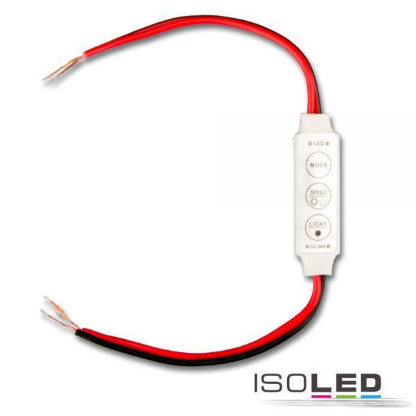 113308 LED Strip Mini Kabel PWM-Dimmer, 1 Kanal, 12-24V DC 3A