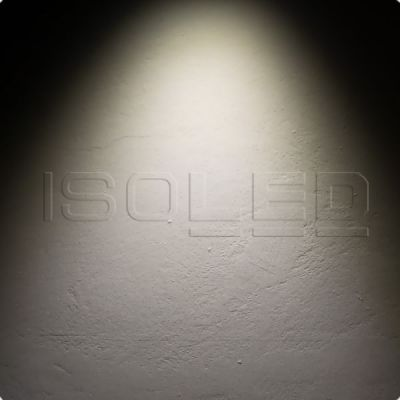ISOLED 113859 LED Downlight Raster, 15W, weiß/schwarz, neutralweiß, 1-10V dimmbar