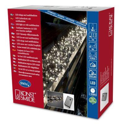 3791-100 Micro LED Büschellichterkette | Multifunktion | 580 warmweiße Dioden