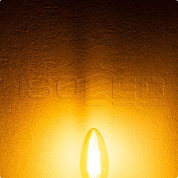 113324 E14 Vintage Line LED Kerze 4W ultrawarmweiß, dimmbar