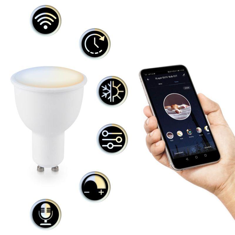 217276 LED Leuchtmittel Smart Echo GU10 4.5W 380lm Dimmbar