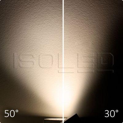 112739 3-PH Schienen-Strahler Bread Light, 40W, 30°-50°, weiß matt